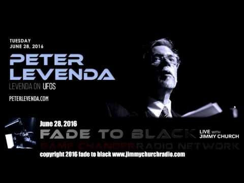 Ep. 480 FADE to BLACK Jimmy Church w/ Peter Levenda: Levenda on UFOs LIVE