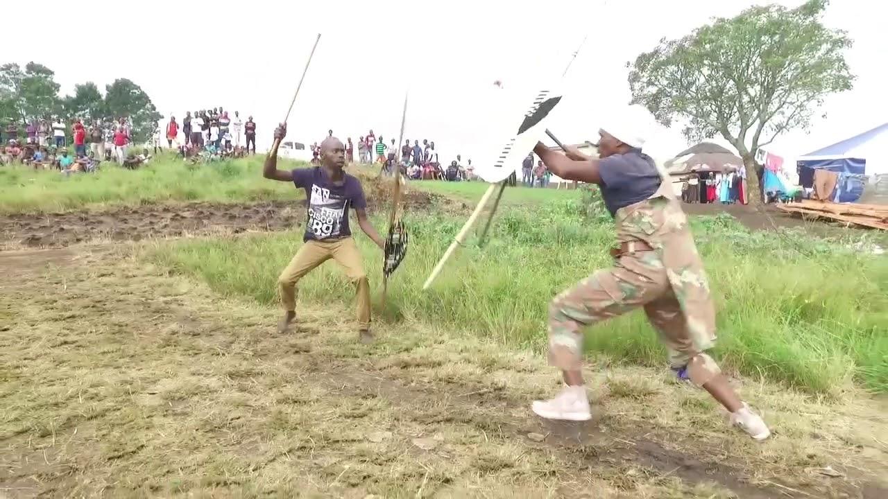 zulu customary stick fight 3 southern zululand 2018