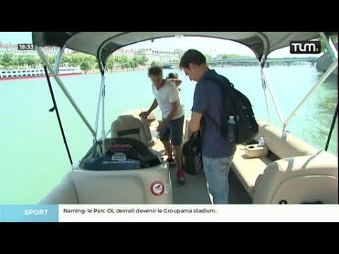 Water Taxi Lyon : Un nouveau bateau sur le Rhône