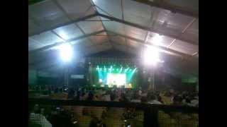 Somlata singing Amar Bhitoro bahire....