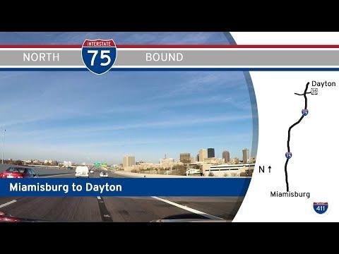 Interstate 75 - Miamisburg To Dayton - Ohio |  Drive America's Highways 🚙