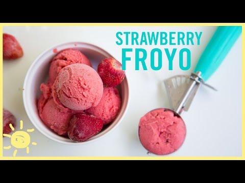 EAT | Strawberry Frozen Yogurt