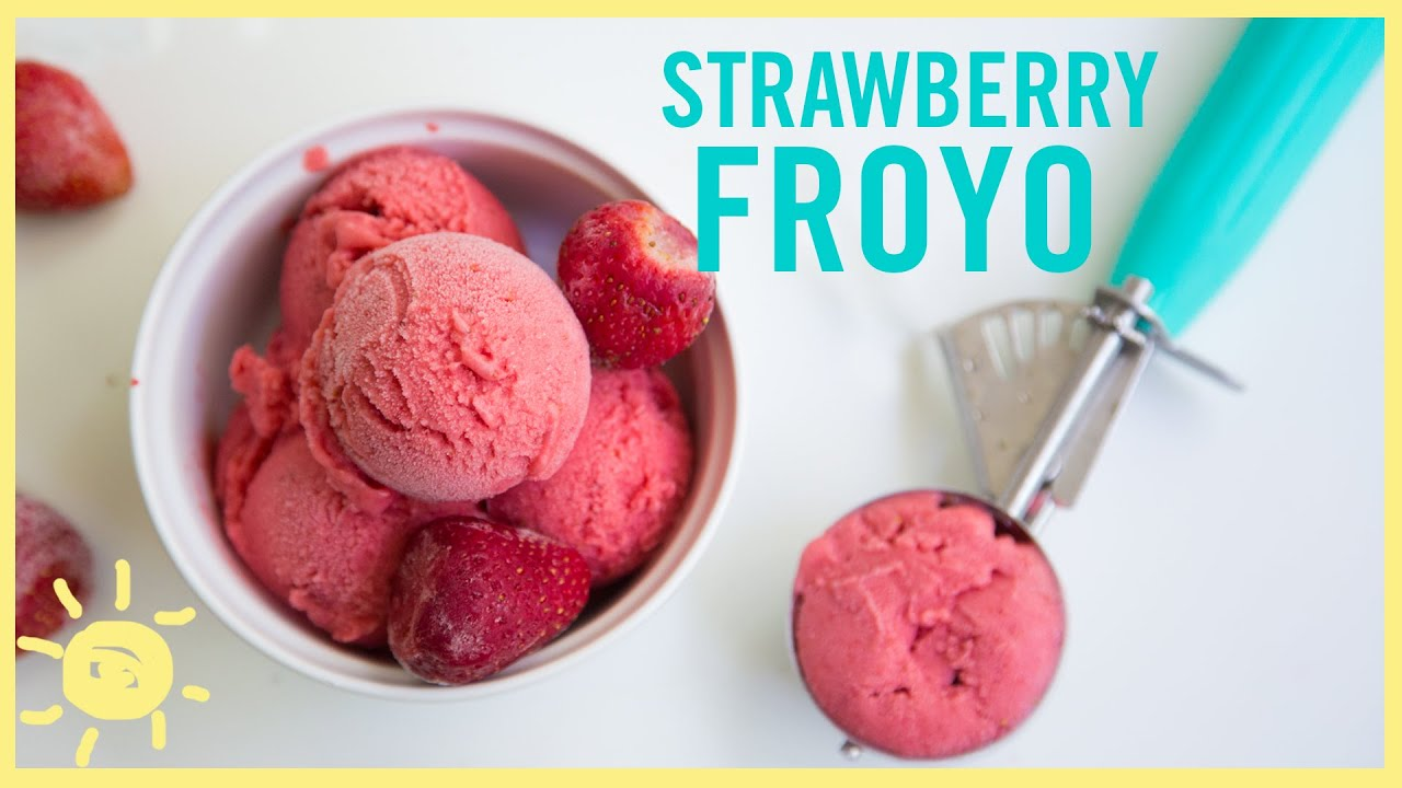 how to eat frozen strawberries