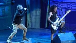 """Childern of the Damned"" Iron Maiden@Madison Square Garden New York 3/30/16"