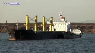 порт Ванино. вид с парома