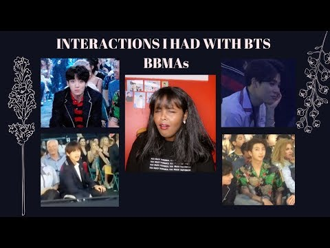 MEETING BTS AT THE BBMAs 2018: JIMIN FLIRTING + OTHER INTERACTIONS