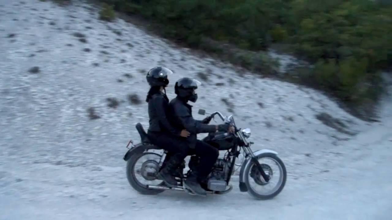 Мотоцикл Урал с днепровским приводом на колесо коляски! 2WD. Обзор .