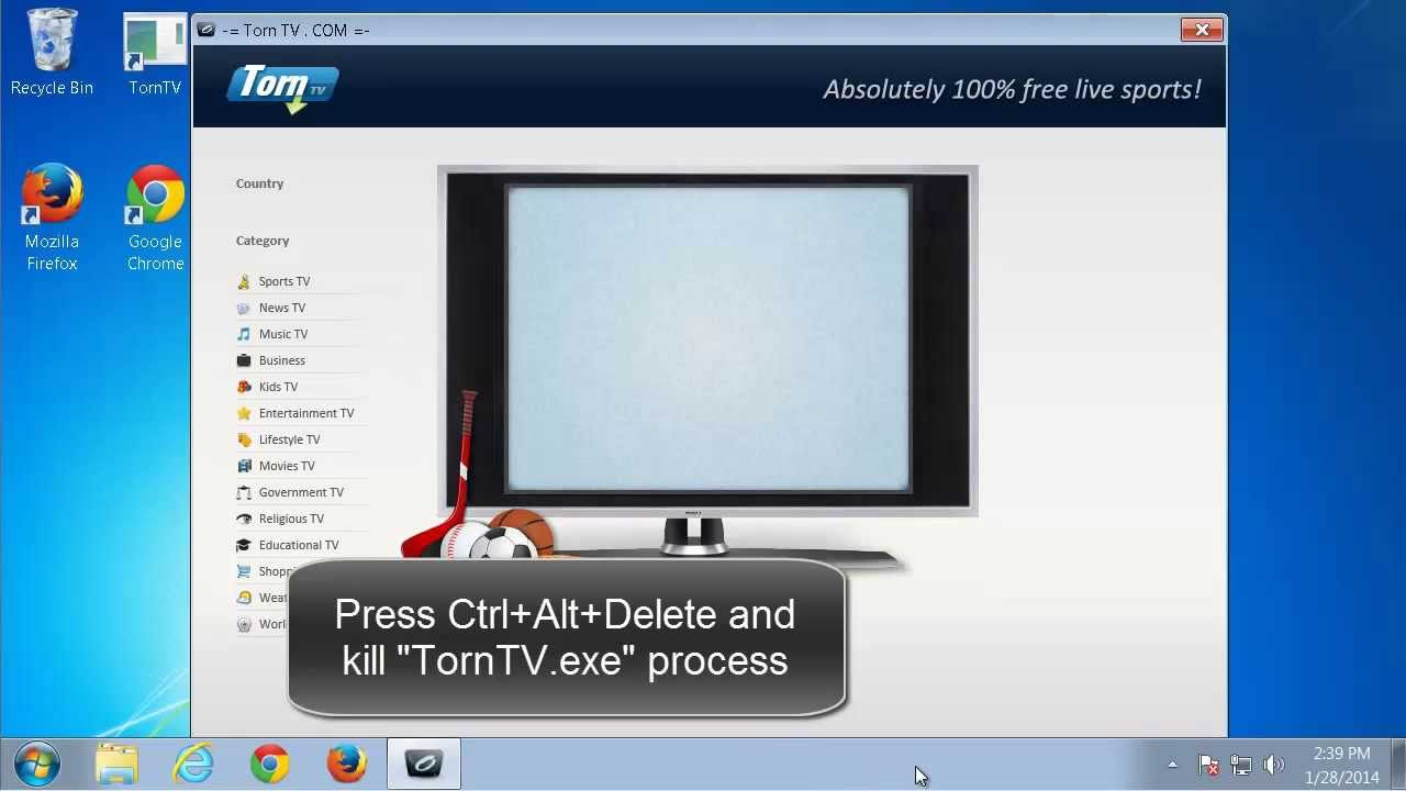 How to uninstall TornTv (video removal guide) - YouTube