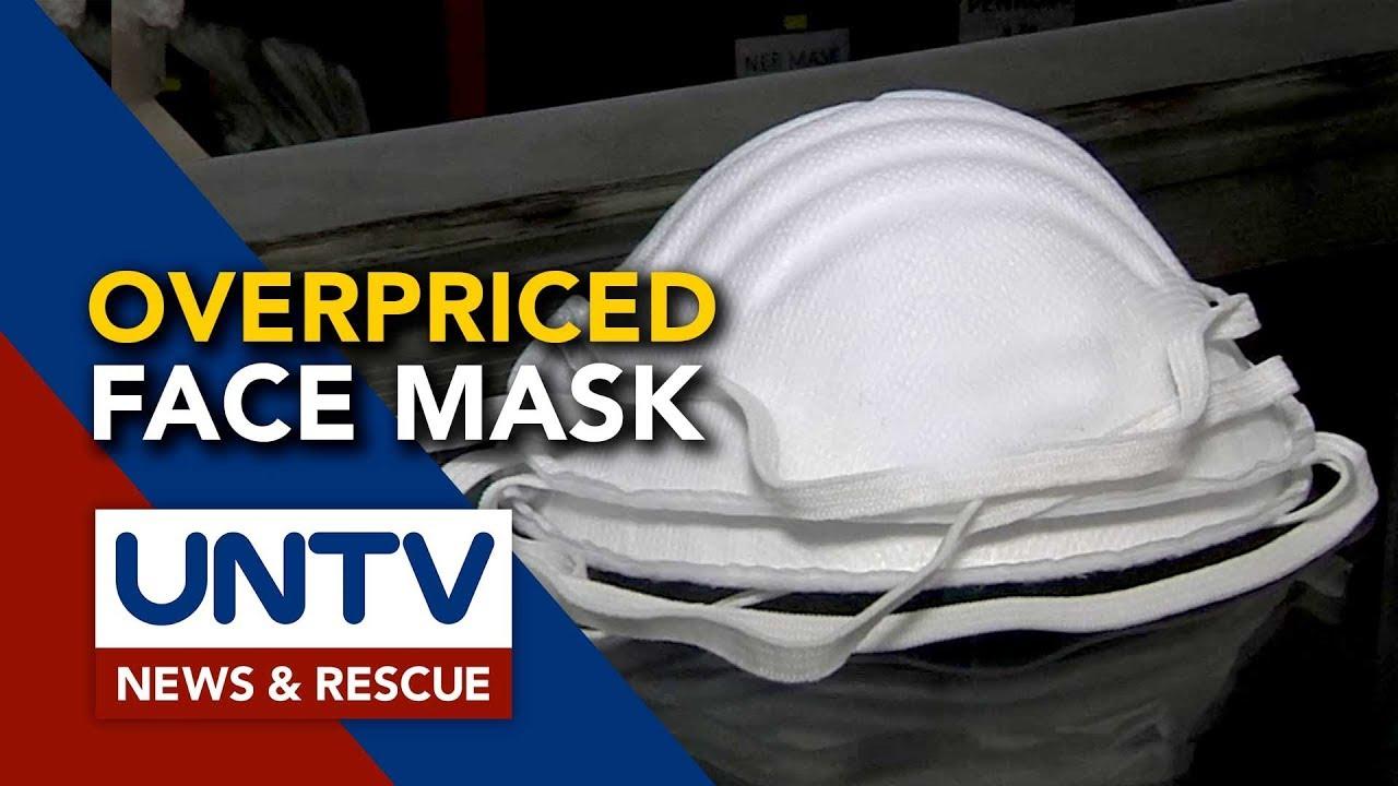 Na Ng Maynila Facemask Overpricing Pinaiimbestigahan Sa N95 Umano'y