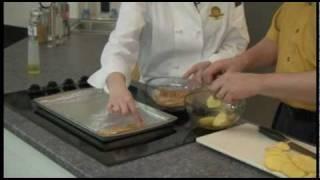 Gluten Free Panko Parmesan Potatoes