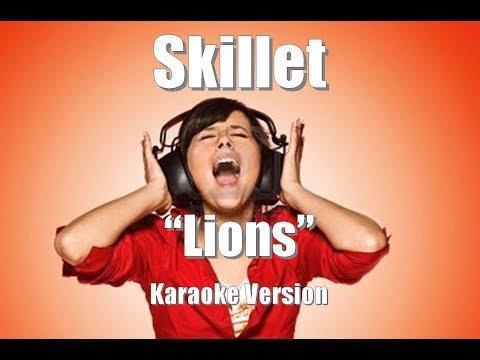 """Skillet """"Lions"""" Karaoke Version"""