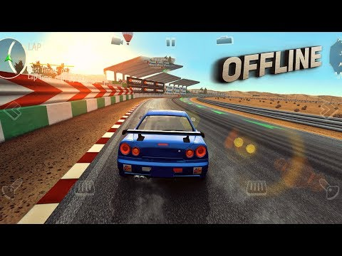 Top 10 Offline Racing Games For Android & IOS 2019! [Good Graphics]