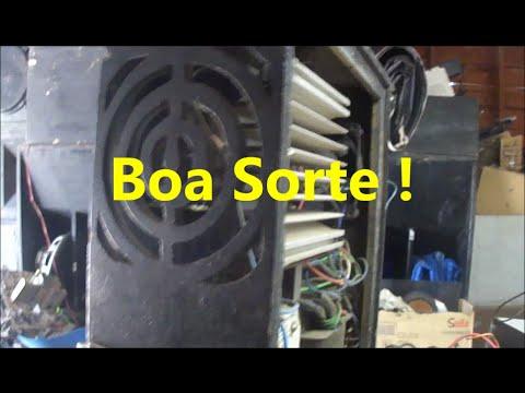 Amplificador artesanal 800 W RMS