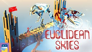 Euclidean Skies: iOS / Android Gameplay (by kunabi brother)