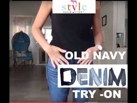 Old Navy Denim Try-On