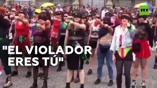 Feministas chilenas cantan contra la violencia hacia las mujeres