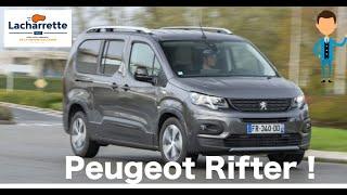 🔥PRESENTATION🔥 Jeanne vous présente le nouveau Peugeot RIFTER