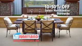 Sunnyland Outdoor Furniture - Summer On The Patio 2015