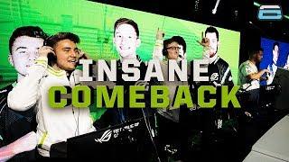 MOST INSANE HARDPOINT COMEBACK!! OpTic Gaming VS Splyce! (CWL VEGAS)