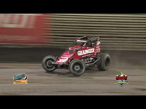 Knoxville Raceway Corn Belt Nationals infield camera highlights!