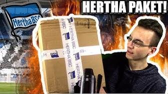 Mein HERTHA BSC PAKET 😍👌