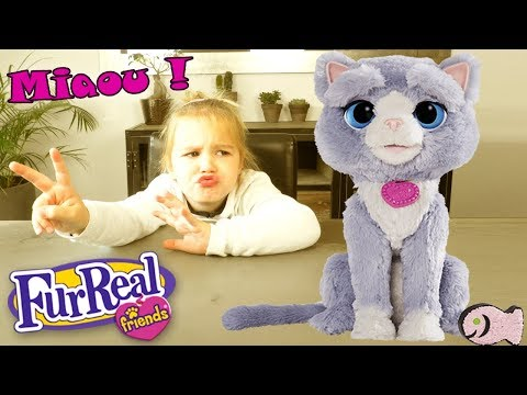 FurReal Friends Hasbro - B5936 - Bootsie - Mon Chat Robot (Unboxing)