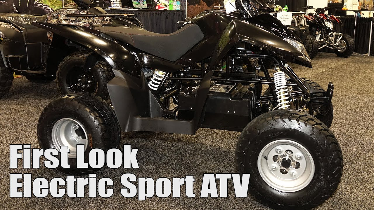 Lightning Electric ATV - DRR's Prototype Sport E-Quad