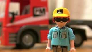 Playmobil 5467 City Action トレーラーを ラジコン(RC)にしてみた