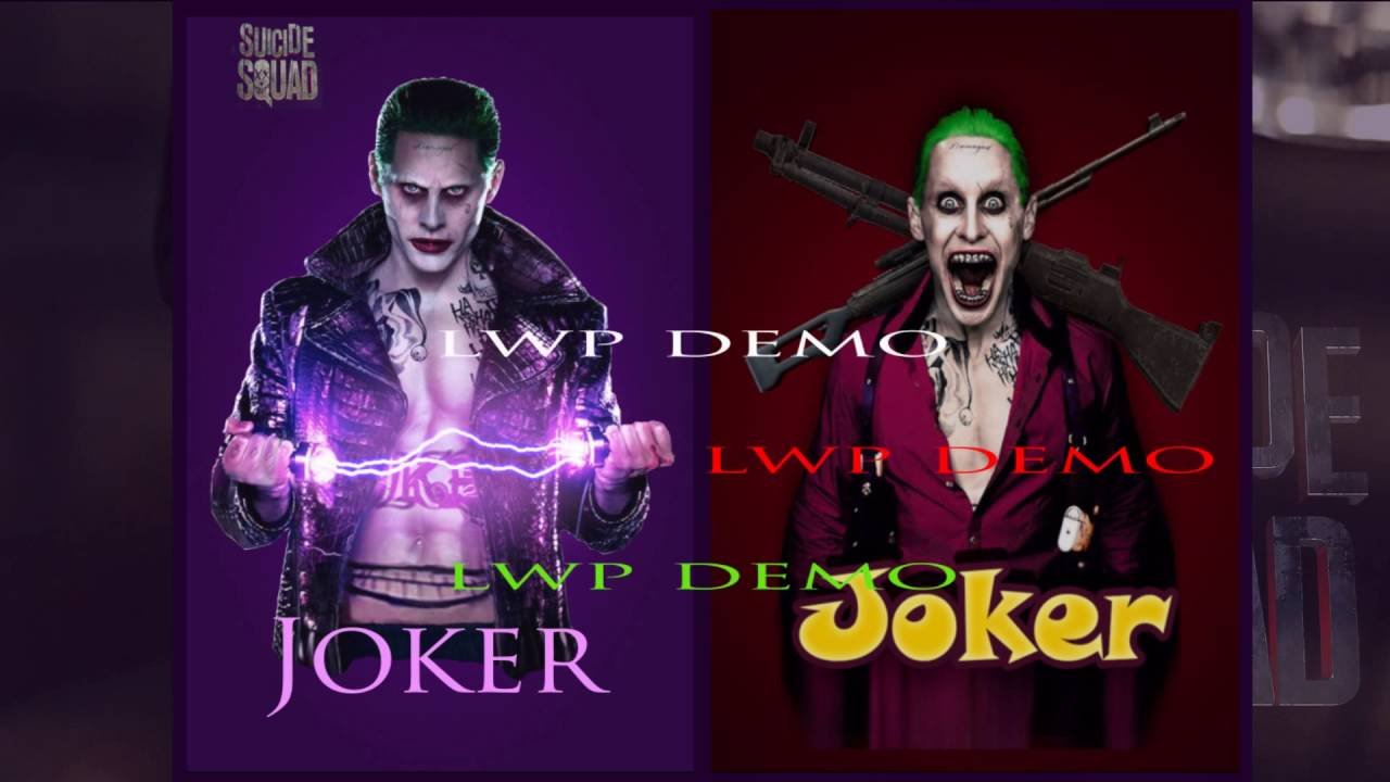 Suicide Squad Joker Hd Live Wallpaper For Android Free Youtube