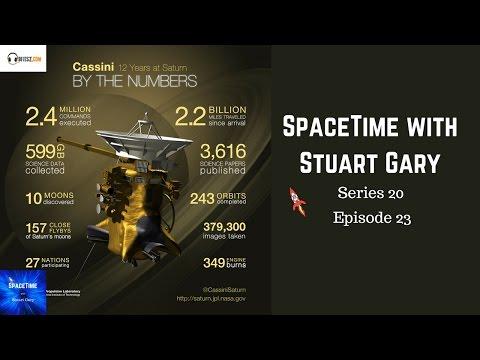 Cassini's grand finale - SpaceTime with Stuart Gary S20E23 YouTube Edition