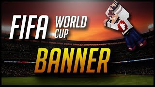HOW TO MAKE THE WORLD CUP TROPHY IN MINECRAFT! (Banner)