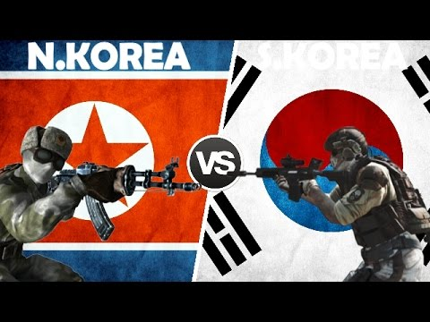 NORTH KOREA VS SOUTH KOREA - Military Power Comparison 2017