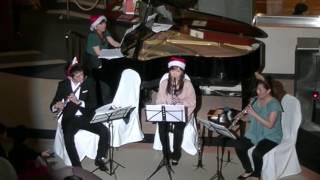 2016年朝里クラッセクリスマスコンサート3days 3日目 クラリネット&オーボエ&フルート&ピアノ