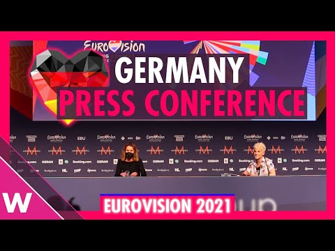 """Germany's Second Press Conference: Jendrik """"I Don't Feel Hate"""" @ Eurovision 2021"""