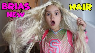 Bria's NEW HAIR! what should she be for HALLOWEEN?