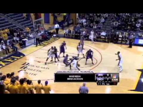 Derrick Thomas Highlight Reel  Drexel 2012-13