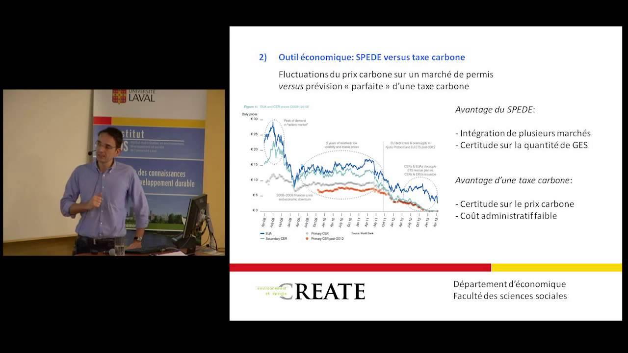 Markus Herrmann - Le marché du carbone et son contexte d'économie politique