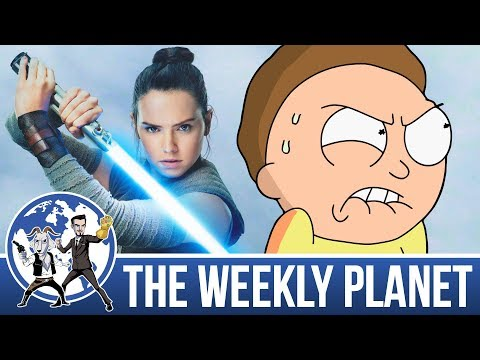 The Last Jedi Trailer & Rick And Morty - The Weekly Planet Podcast