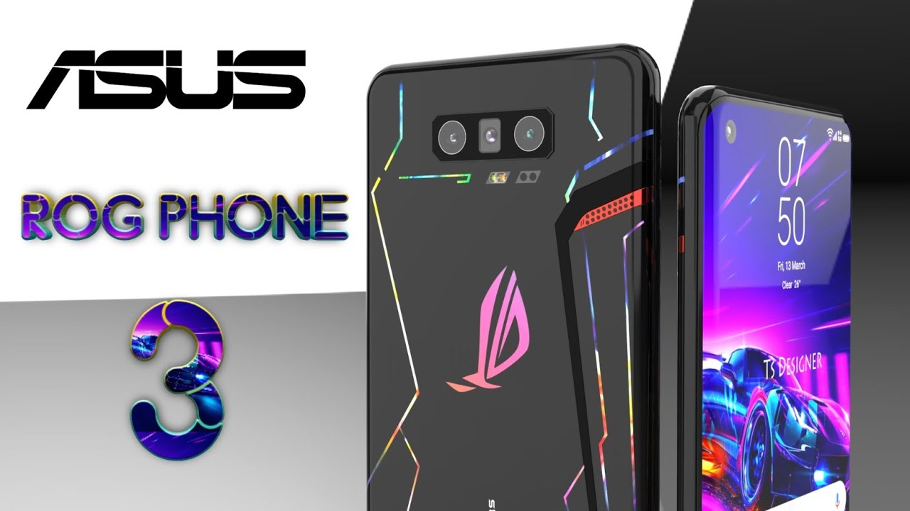ASUS ROG Phone 3 First Look, Official Introduction Trailer Concept ...