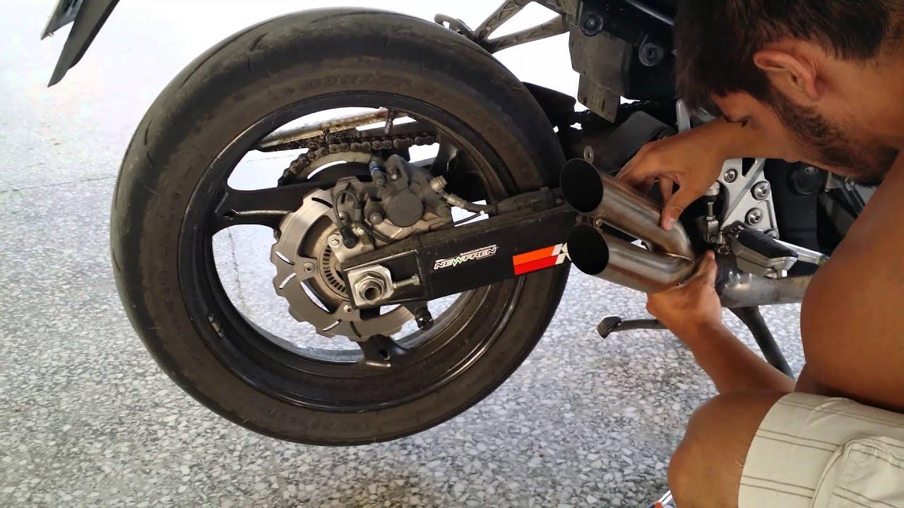 Suzuki Gsf Exhaust