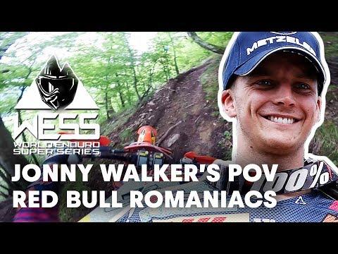 Jonny Walker's POV from Red Bull Romaniacs. | Enduro 2018