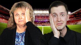 משחק כדורגל נגד אמא שלי (עם עונשים)