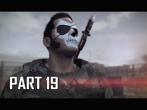 METAL GEAR SURVIVE Walkthrough Part 19 - Wormhole Digger (PS4 Pro 4K Let's Play)