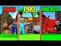 Minecraft - SECURE ZOO PRISON! (NOOB PRO HACKER)