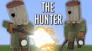 The Hunter in Minecraft Little Nightmares