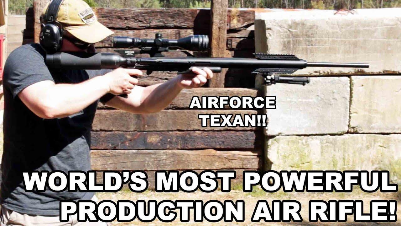 AirForce Texan Guide | Big Bore PCP Air Rifle | Airgun Depot