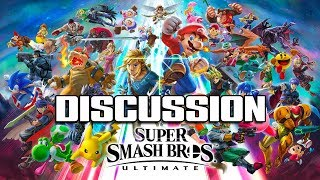 MY THOUGHTS ON SMASH BROS ULTIMATE & THE NEW WEBSITE! - Super Smash bros Ultimate Discussion