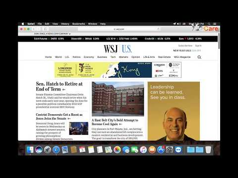 How to Access Chinese version of Wall Street Journal on Mac in China