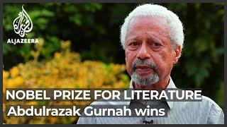Tanzania's Abdulrazak Gurnah wins 2021 Nobel Prize for literature