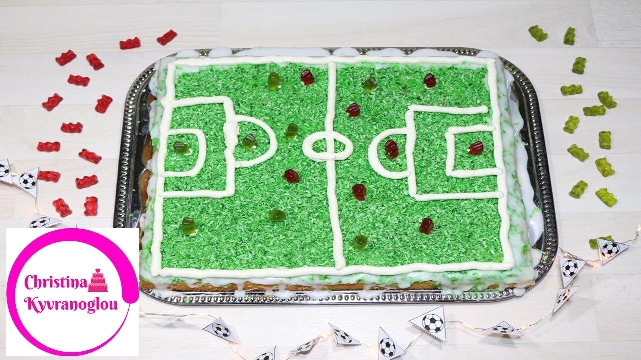 Fussball Kuchen Fussball Feld Kuchen Geburtstagskuchen Fussball Torte
